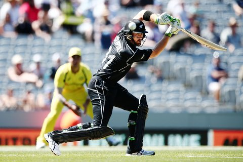Martin Guptill helped give New Zealand a flying start against Australia.